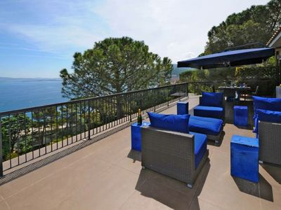 Photo for Villa Daphne is situated in one of the most panoramic positions of Porto Santo Stefano, overlooking