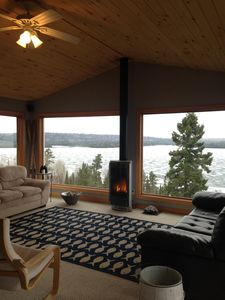 Photo for Private, modern mountain top cabin.  Amazing lake view!  Lake access or hike!