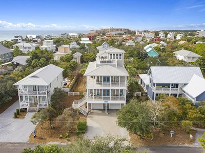Photo for Beautiful Home with Gulf Views from Rooftop Deck and Private Pool!