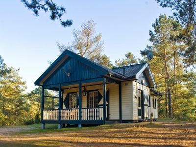 Photo for 4-person chalet in the holiday park Landal Coldenhove - in the woods/woodland setting