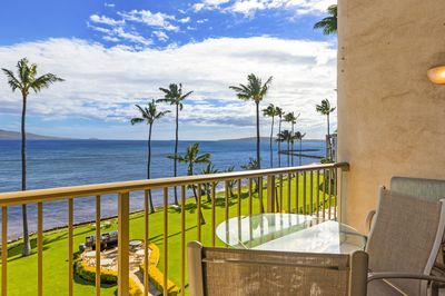 right side view from lanai