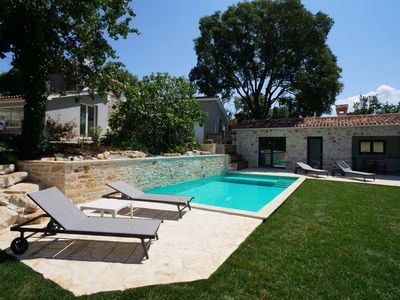 Photo for Holiday house immersed in beautiful nature with Swimmingpool & Bikes