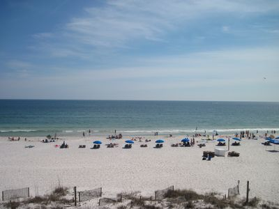 Photo for BEACH FRONT 2 Bedroom, 2 Bath 4th Floor Unit - GREAT VIEW!!