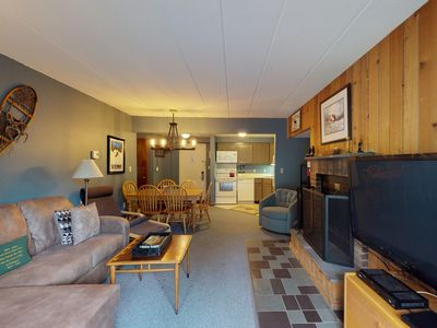 Photo for NEW LISTING! Resort condo at the base of the slopes w/ shared pools & hot tub!