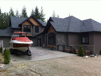 Photo for Private Luxury Acreage Overlooking Mara Lake at Sicamous - ***Spectacular***