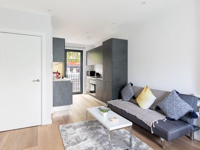 Photo for Modern 2 Bedroom Family Apartment for up to 6 - 4 Stops from Oxford Street