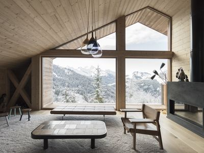Photo for Barma Chalet - Luxurious modern chalet, exceptional view, 900 m from the slopes