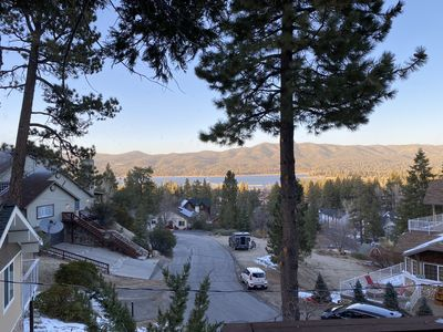 View from the Top Deck, earning the name Big Bear Bird's Eye View