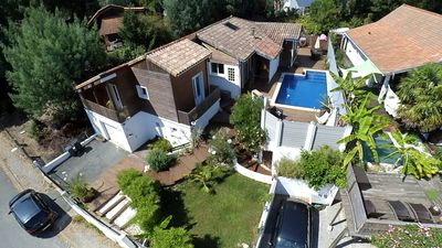 Photo for HOUSE WITH BAR EXTERIOR AND SWIMMING POOL IN THE HEART OF NATURE LANDAISE CLOSE OCEAN