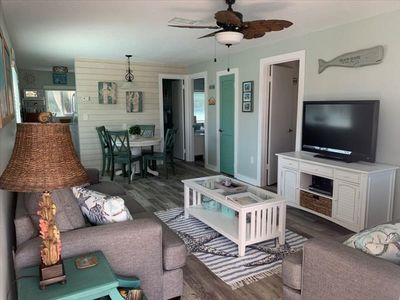"Photo for *** COMPLETELY REMODELED ***  ""A WAVE FROM IT ALL "" ANNA MARIA ISLAND LAY-Z-LIV-N-13 2 BEDROOM 1 BATH CONDO"
