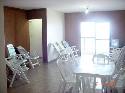 Photo for Total view of the beach, Sea front,. 2 Bedrooms, 2 Baths, Sleeps 8