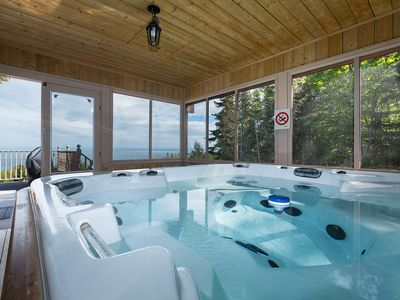 Photo for unique style-hot tubes-waterfront view-94 000 square feet lot-privacy