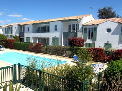 Photo for LA JOLIE BRISE APARTMENT WITH TERRACE HEATED SWIMMING POOL AND PARKING