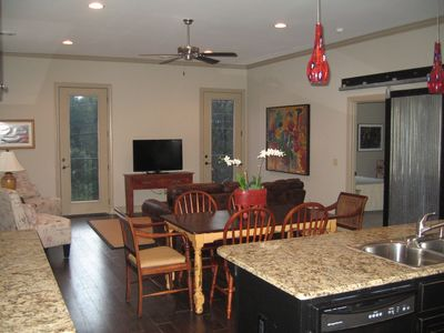 Photo for Spacious Private Condo Minutes from the Square and Campus