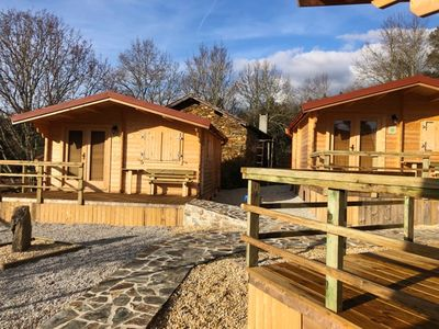 Photo for Homerez last minute deal - Amazing chalet with garden