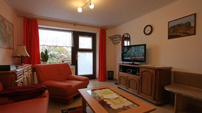 Photo for family-friendly one bedroom apartment with castle view