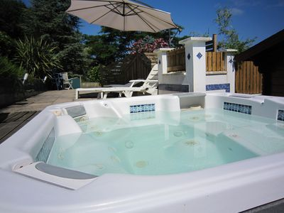 Photo for Apartment 15 km from the beach, jacuzzi, sauna, sleeps 5, fully equipped