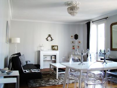 Photo for Stylish, chic,  family Appart : highly equiped , very central and quiet
