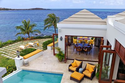 Views to Green Cay from the Chenay Bedroom on the second level