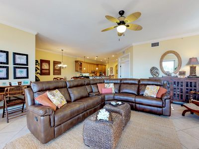 Photo for Stunning Gulf-front home with two shared pools - near the beach!