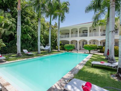 COLONIAL, INDO-CHINE LUXURY VILLA W/ GOLF/OCEAN VIEW, POOL & MAID - NEAR OCEAN