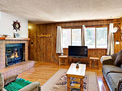 Photo for 3BR Dog-Friendly Tahoe City House Near Hiking and Skiing; Walk to Lake