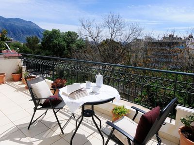 Photo for Apartment 470 m from the center of Kalamata with Lift, Parking, Internet, Washing machine (961247)