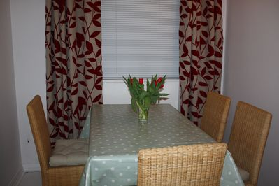 Dining area for four