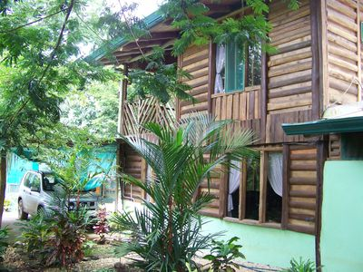Photo for Covered Pickleball Court and Two-Story Log Home in the Tropics