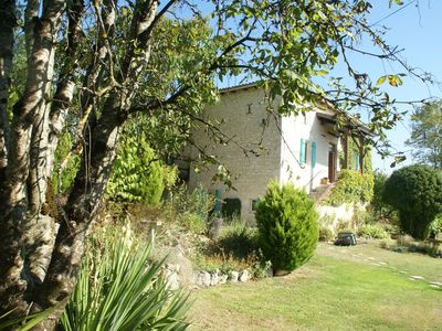 Photo for Lovely, authentic gîte in peaceful location with private pool and a huge garden.