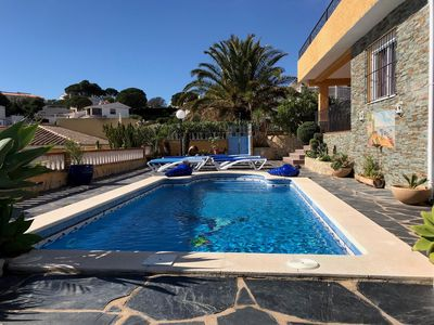 Photo for CASA MIRAMAR - Penthouse Villa, 1200m 2, A/C, Wi-Fi, Pool & Private and Secure Parking