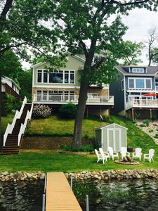 Photo for HUGE 5 Bedroom Lake House Retreat On Crooked Lake