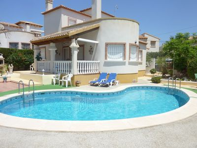 Photo for Luxury Detatched Villa With Private Pool Sleeps 6 In A Quiet Location