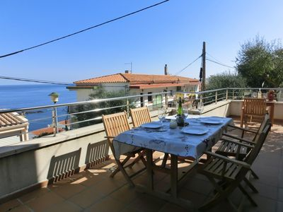 Photo for Spacious, modern, fully-equipped house located in Cap Ras, a quiet residential area 300 m.