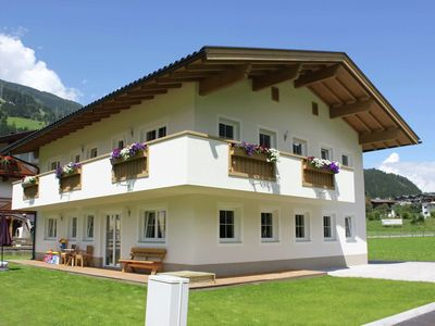 Photo for Luxurious new holiday apartment, in a central location in the Zillertal valley.