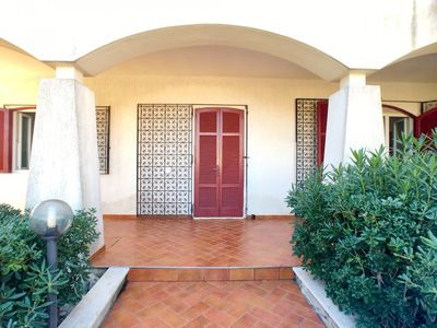 Photo for Comfortable villa in Posto Rosso, a few steps from the sea, just 150 meters from the low cliff with