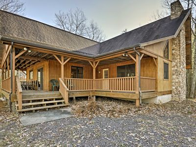 Photo for Rustic Benton Home on 50 Acres w/ Deck & Views!