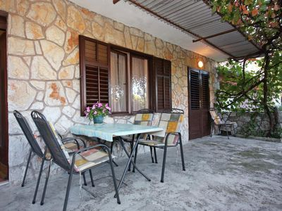 Photo for Two bedroom apartment with terrace Jelsa, Hvar (A-5728-a)