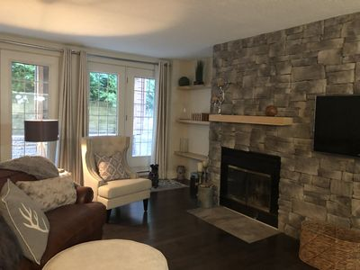 Photo for Beautiful condo in the heart of St-Sauveur, at the luxurious Manoir St-Sauveur.