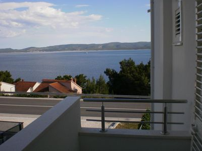 Photo for Studio flat with terrace and sea view Medići (Omiš)