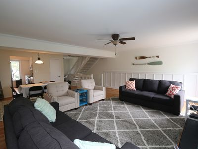 Photo for Beautiful newly remodeled town home 1 block from the Boardwalk!
