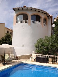 Photo for Villa with private swimming pool, quiet location, beach at 6 km