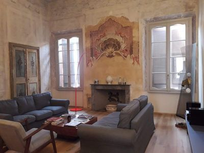 Photo for Charmente apartment in the center of Mantua with frescoes from the 17th century