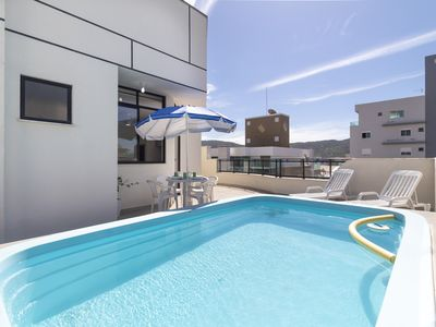 Photo for Beautiful Penthouse with Pool for 10 People 150 Meters from the Beach