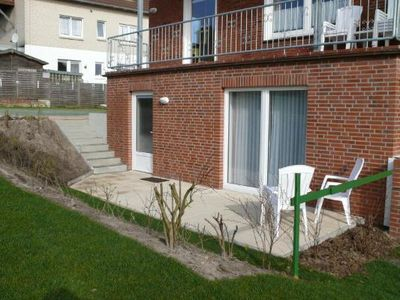 Photo for Small apartment for 2 persons with dog only 200m to the main beach