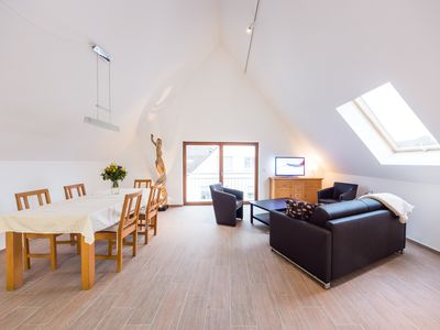 Photo for 84 sqm attic apartment in the center of Heddesheim
