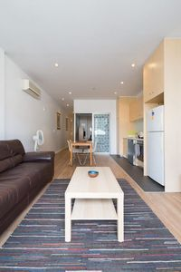 Photo for Central City Two bedroom apartment. CBD. Secure. FREE PARKING, NetFlix, Internet
