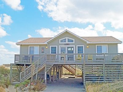 Photo for SEMI-OCEANFRONT with 4 bedrooms, direct beach access and striking ocean views