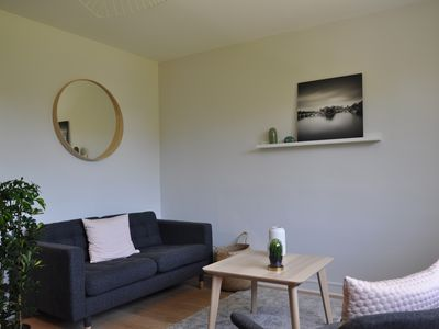 Photo for Beautiful new 3 bedroom apartment + PK - near Gare SNCF and Cité des congrès