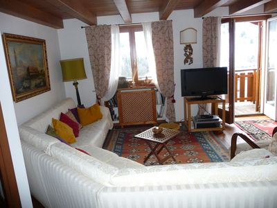 Photo for Spacious penthouse at d'Ampezzo Cortina, the pearl of the Dolomites
